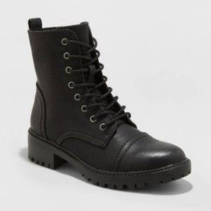 Kamryn Lace Up Boots 8 Universal Thread